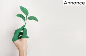 Plante og grønne fingre